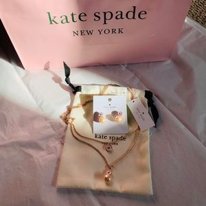 Kate spade jewelry set ! Price firm no offers !!!